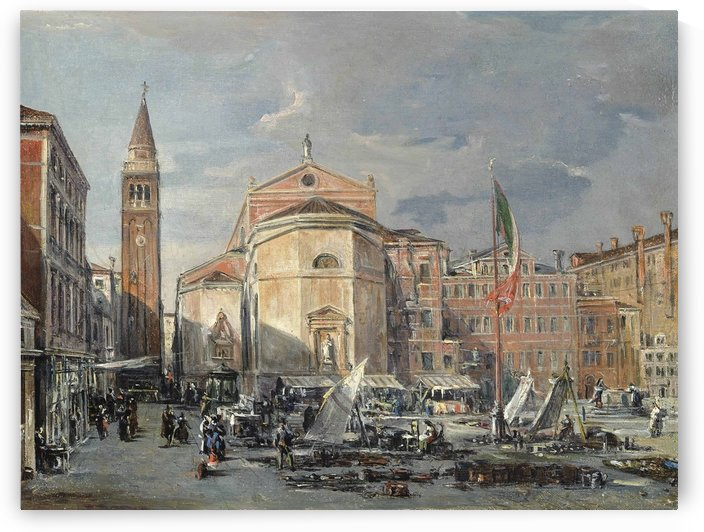 A Venetian square by Francesco Zanin