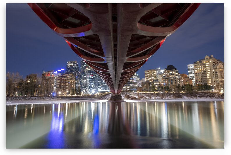 Peace Bridge - 2373  by Ken Anderson Photography