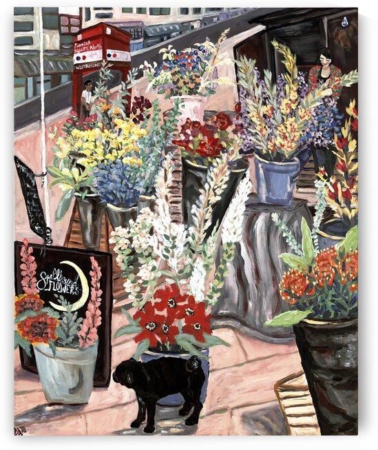 Flower Lady by Deborah Alastra
