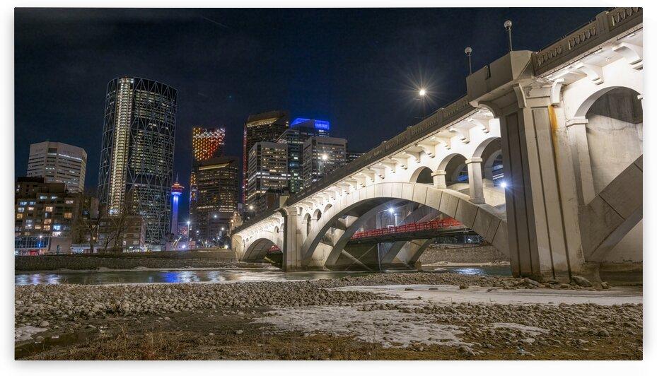 Center Street Bridge Calgary - 2396 by Ken Anderson Photography
