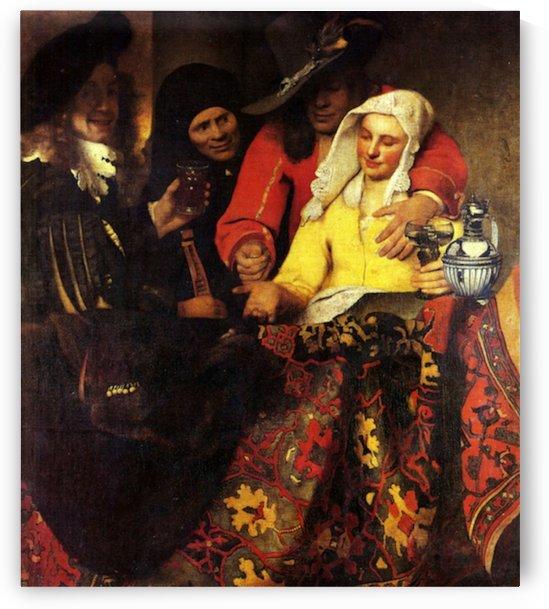 The Procuress by Vermeer by Vermeer