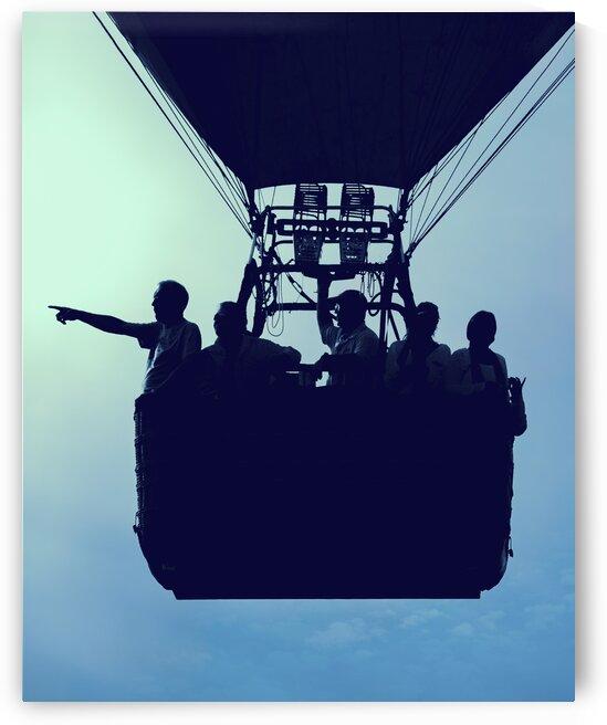 Basket Full Of Aeronauts by Bob Orsillo