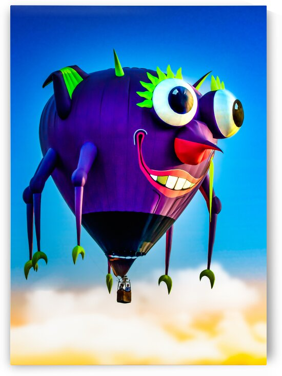 Flying Purple People Eater by Bob Orsillo