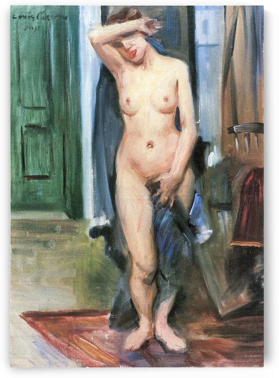 Standing Nude by Lovis Corinth by Lovis Corinth