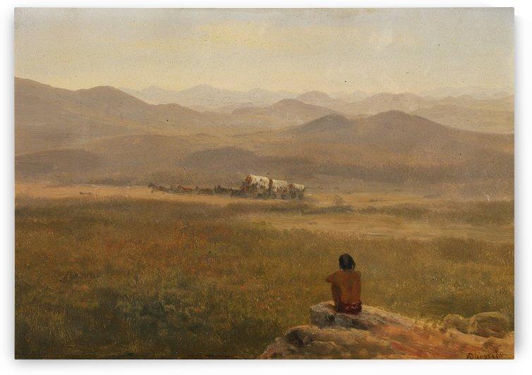 Indian Caravan by Albert Bierstadt