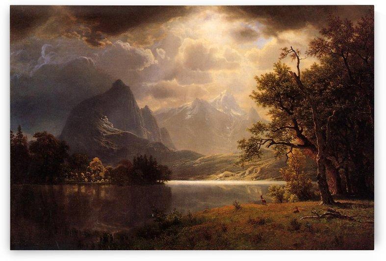 Estes Park, Colorado, 1869 by Albert Bierstadt