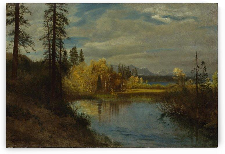 Outlet at Lake Tahoe by Albert Bierstadt