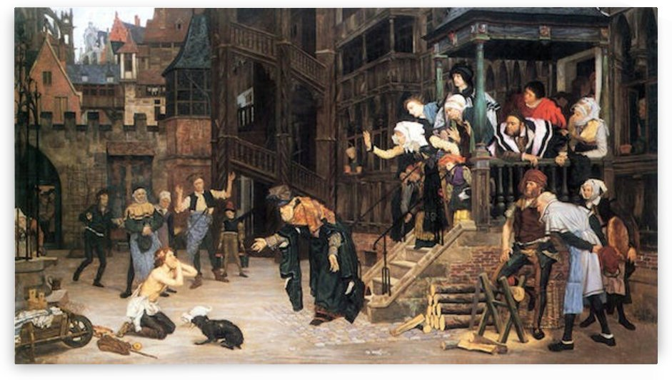 The return of the prodigal son by Tissot by Tissot