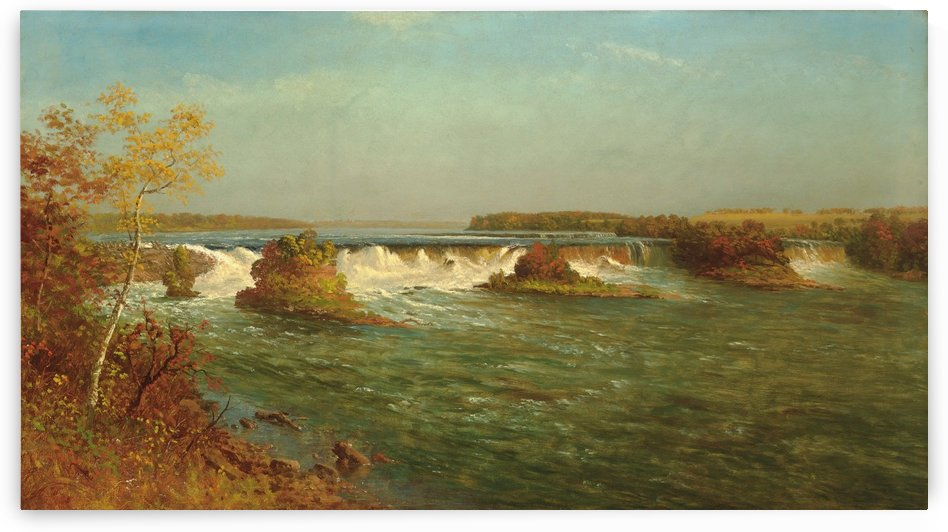 Saint Anthony Falls by Albert Bierstadt