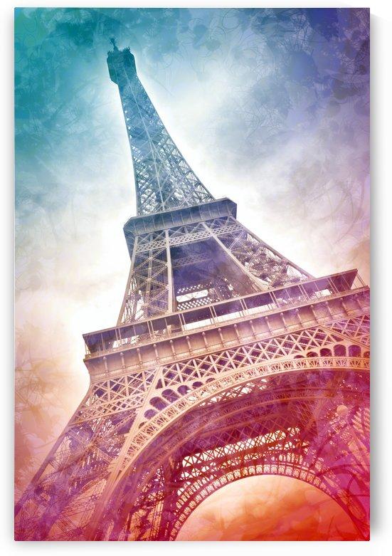 Modern-Art EIFFEL TOWER by Melanie Viola