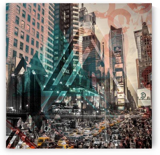New York City Geometric Mix No. 4 by Melanie Viola