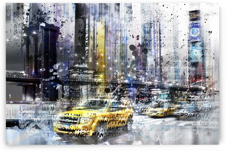 City-Art NYC Collage by Melanie Viola