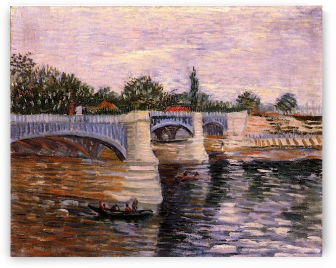 The Seine with the Pont de la Grande Jette by Van Gogh by Van Gogh