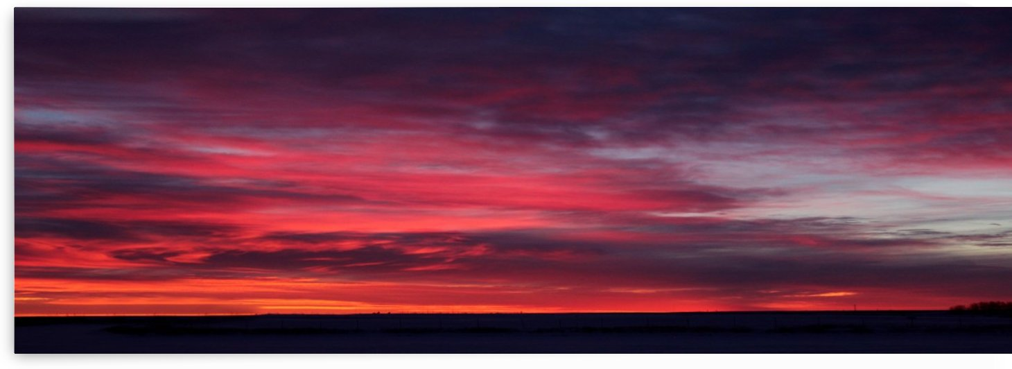 Late Winter Chinook Sunrise by Jody Majko