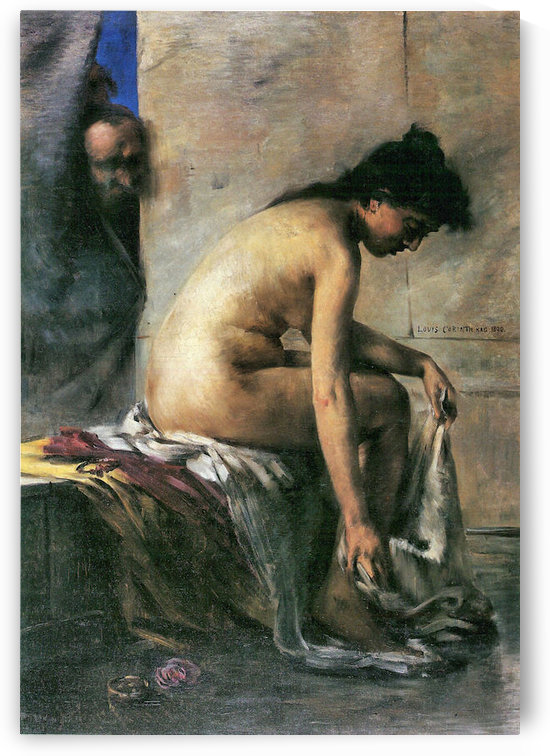 Susanna in Bath by Lovis Corinth by Lovis Corinth