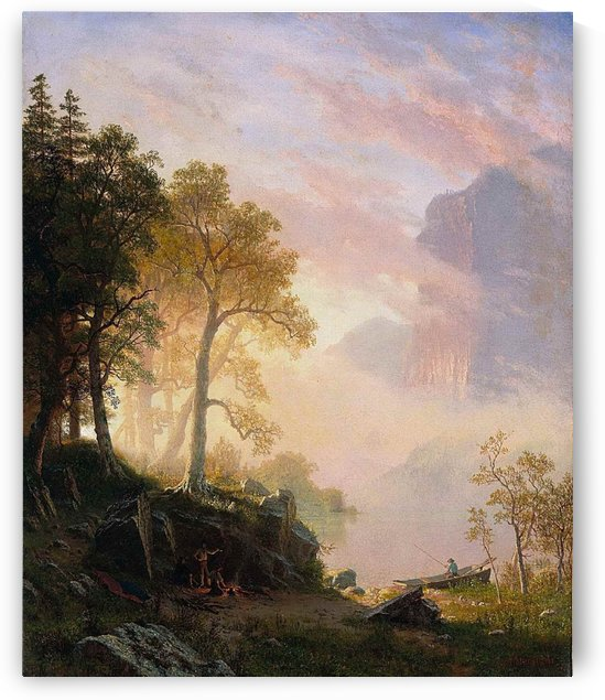 The Merced River in Yosemite by Albert Bierstadt