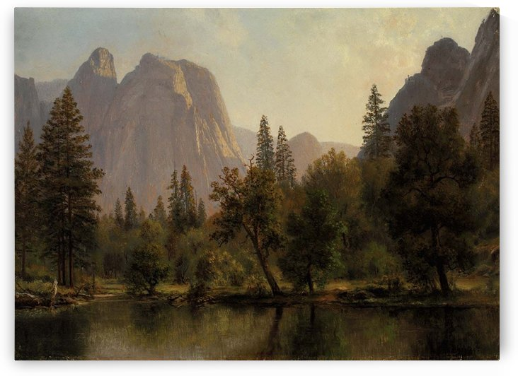 Among the Sierra Nevada, California, 1868 by Albert Bierstadt