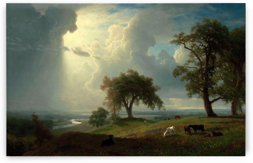 California Spring by Albert Bierstadt
