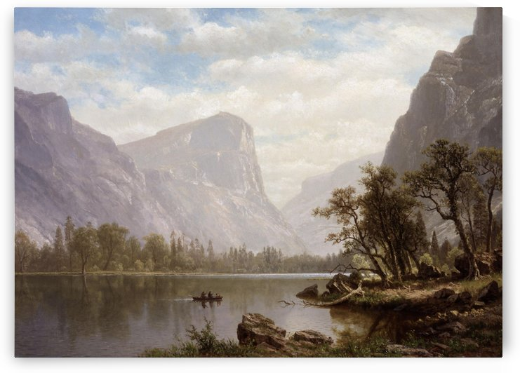 Mirror Lake, Yosemite Valley by Albert Bierstadt