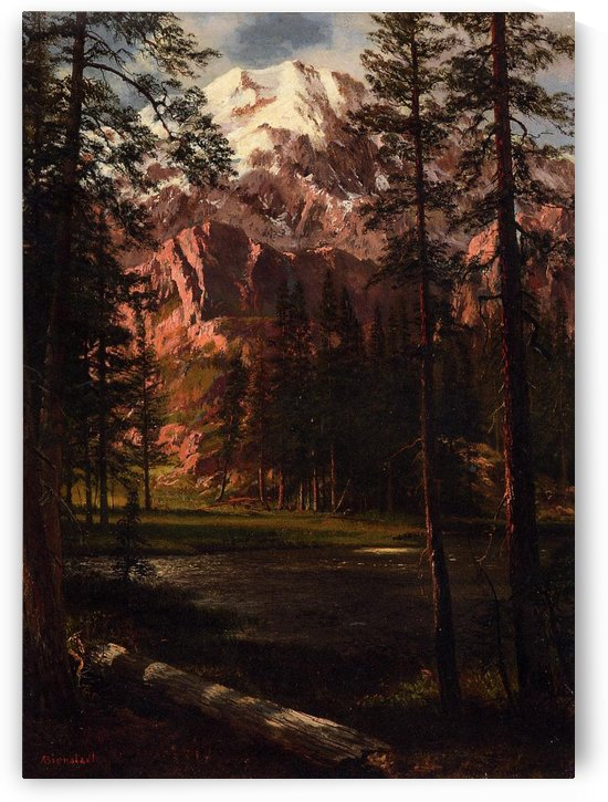 Mountain Lake by Albert Bierstadt