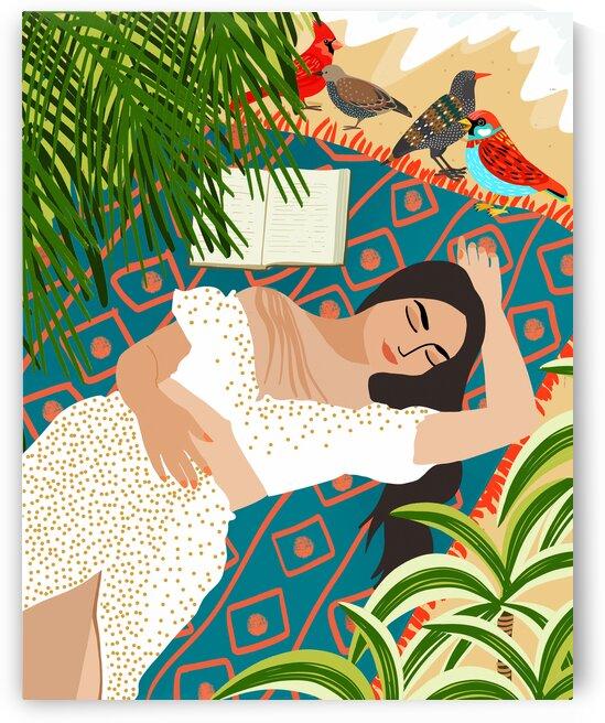 Beach. Read. Sleep. Repeat. by 83 Oranges