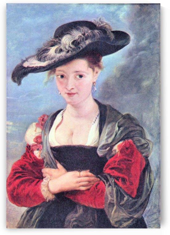 The straw hat by Rubens by Rubens