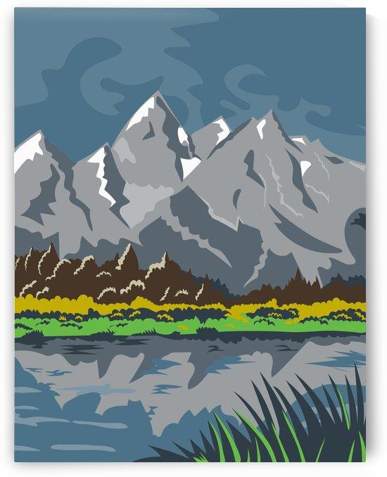 Grand Teton National Park by Artistic Paradigms