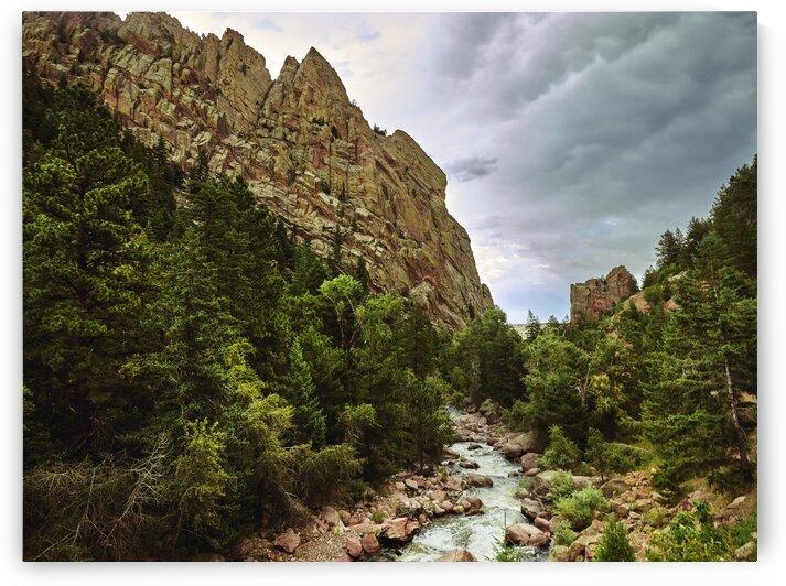 Stream in Eldorado Canyon State Park in Boulder County Colorado. by 7ob