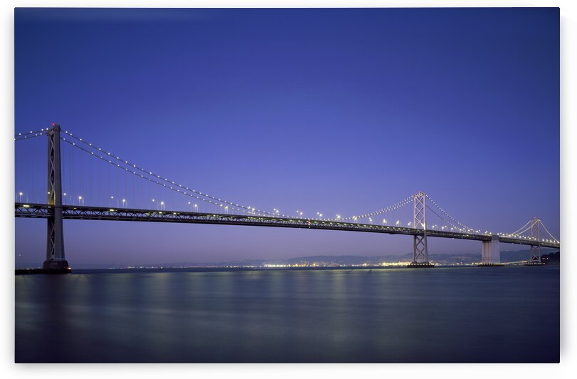 San Francisco Oakland Bay Bridge  USA by 7ob