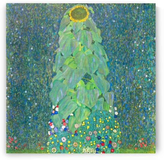 The Sunflower by Klimt by Klimt