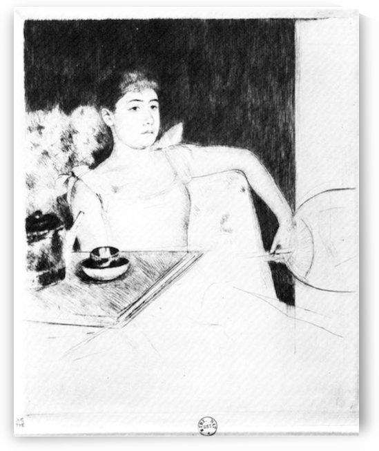 The Tea by Cassatt by Cassatt