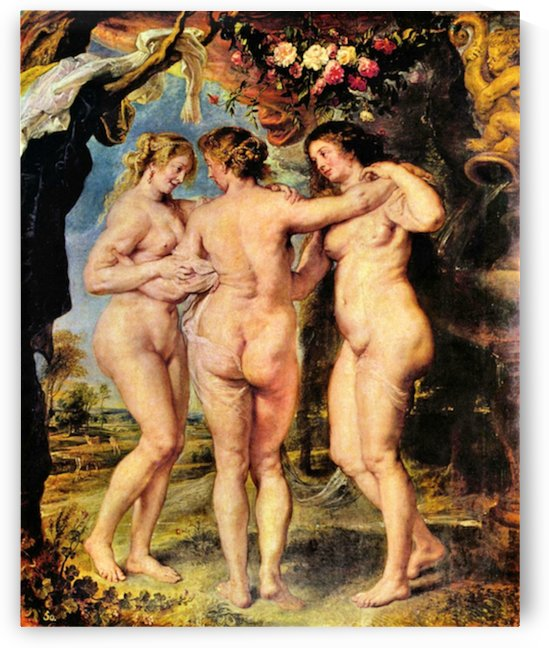 The Three Graces by Rubens by Rubens