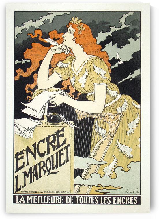 Encre L Marquet Grasset Maitre by VINTAGE POSTER