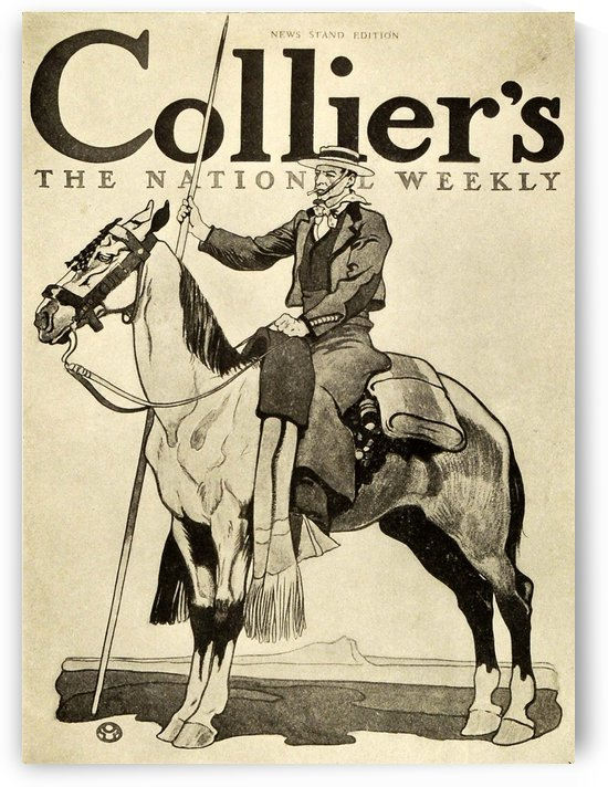 Colliers The National Weekly by VINTAGE POSTER