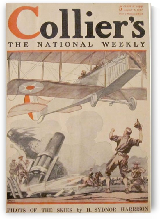 Pilots of the Skies by VINTAGE POSTER