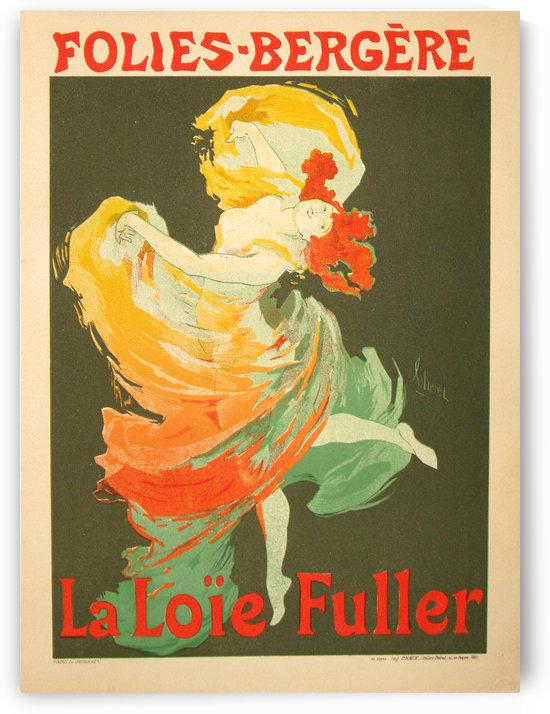 Jules Cheret, La Loie Fuller 1893 by VINTAGE POSTER