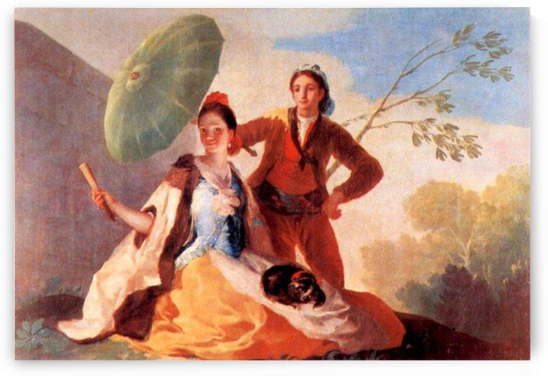 The Umbrellas by Goya by Goya