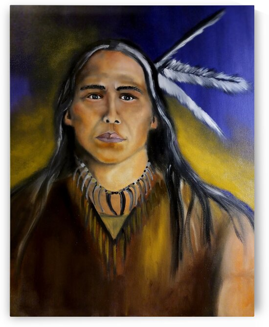 Ojibway Young Man by KelRos