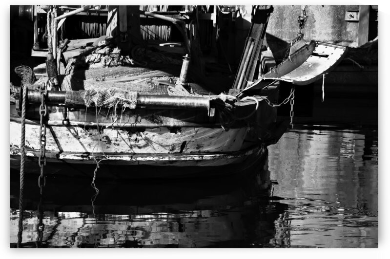 Vintage Boat by Giulio Bardelli