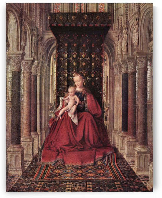 The Virgin and Child by Jan Van Eyck by Jan Van Eyck