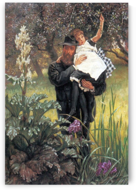The widower by Tissot by Tissot