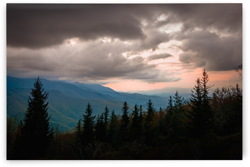 Blue Ridge Storm by Mark Daniels