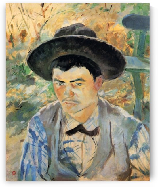 The young Routy 2 by Toulouse-Lautrec by Toulouse-Lautrec