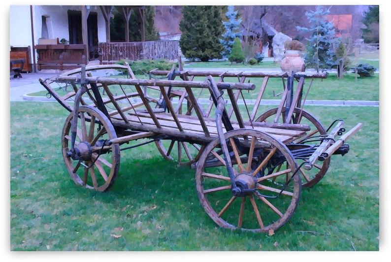 Cart Wagon Wheels Version 3 by Nisuris Art