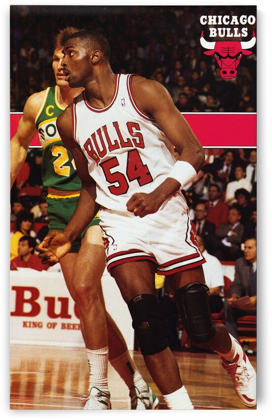 1988 Chicago Bulls Horace Grant Poster by Row One Brand