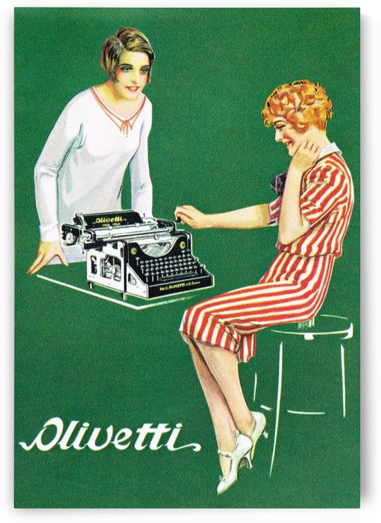 Olivetti poster by VINTAGE POSTER