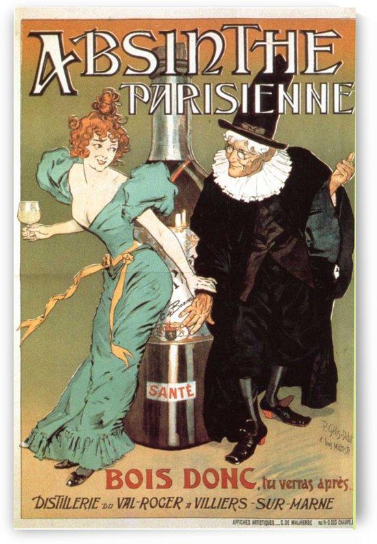 Absinthe Parisienne by VINTAGE POSTER