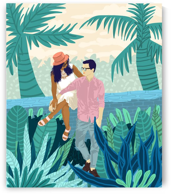 Tropical Romance by 83 Oranges