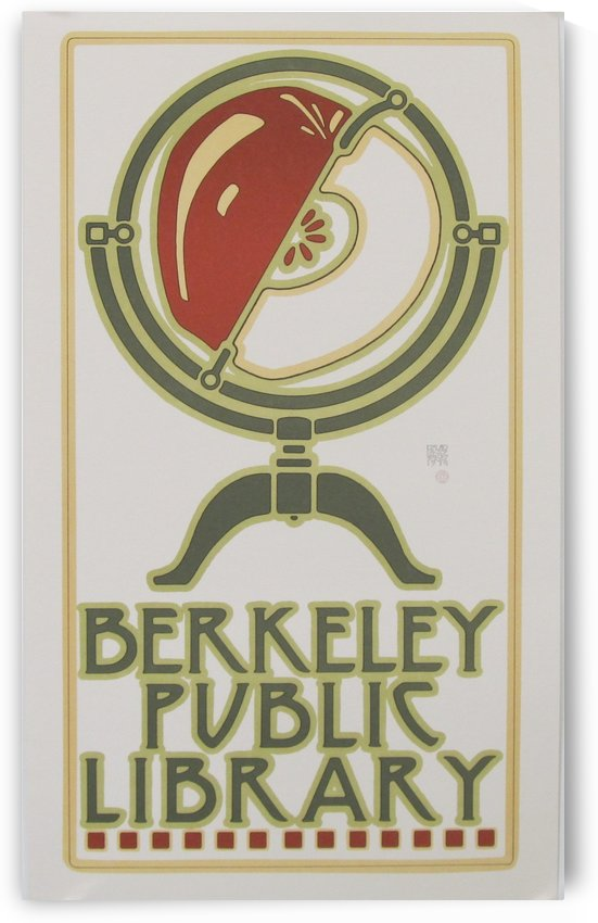 Berkeley Public Library Poster by VINTAGE POSTER
