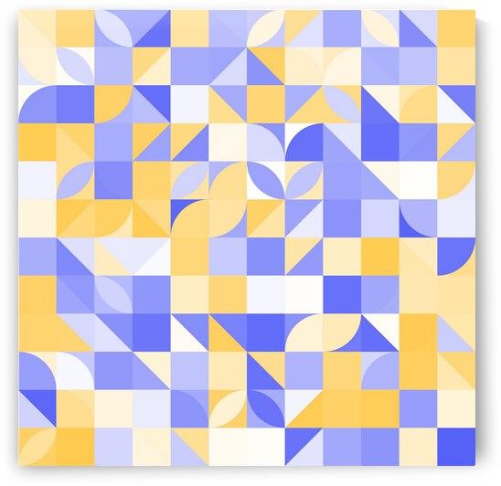 Mid Geometry Pattern  by rizu_designs
